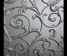 3D панели покрашены декоративной венецианской штукатуркой Cebos Color