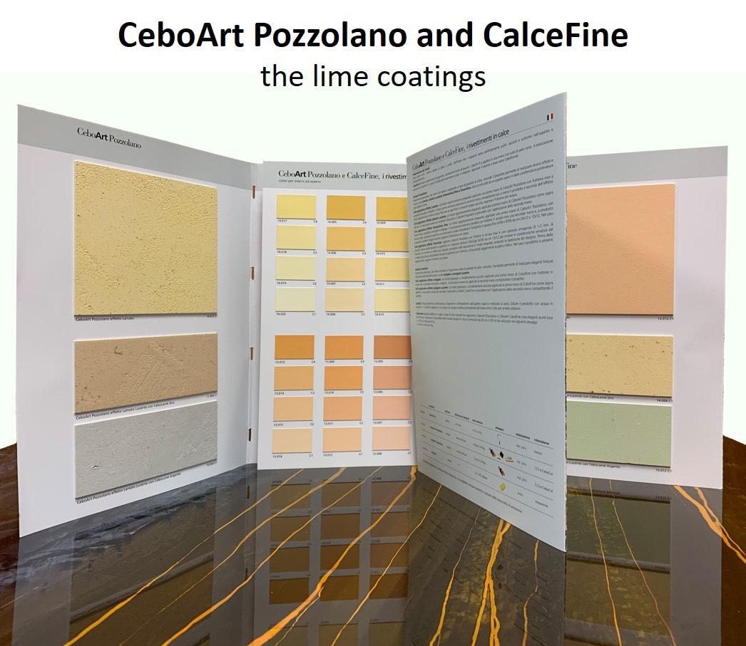 Известковая декоративная штукатурка CalceFine