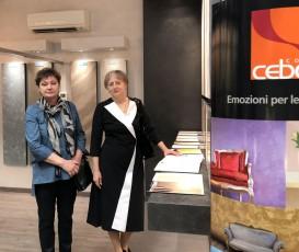 Презентация новых декоративных штукатурок и красок в Италии