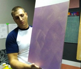 Мастер-класс в Каменец-Подольском по нанесению декоративных штукатурок Cebos Color
