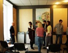 Запорожье, архитектурная встреча