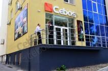 Открытие нового Декор-центра Декоративных покрытий Cebos  в Днепропетровске 2012г.
