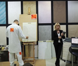 Мастер-класс по декоративной штукатурке Полтава