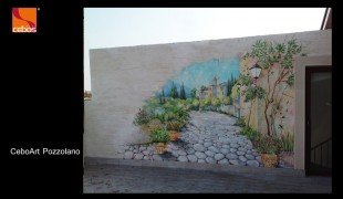 Портфолио - отделка стен, потолков и фасадов декоративной штукатуркой и декоративными красками итальянского производителя Cebos