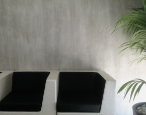 Микроцемент. Эффект бетона, имитация натурального камня Травертин CEBOART POZZOLANO