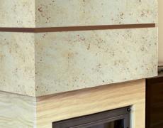 Декоративные покрытия для камина, каминного портала