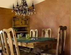 Декоративные покрытия для столовой