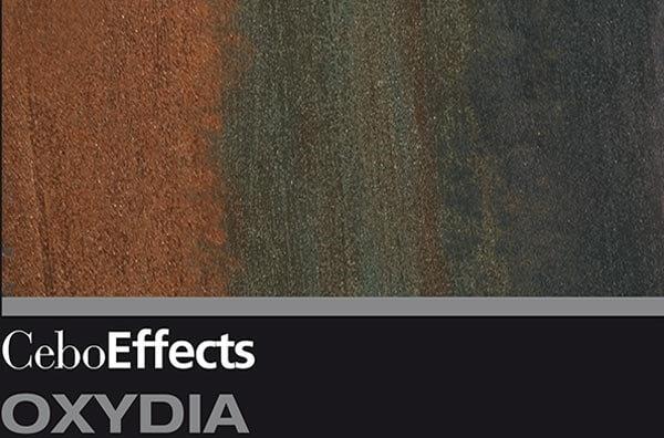 Декоративная штукатурка с эффектом Oxydia Окисленный металл Ржавчина