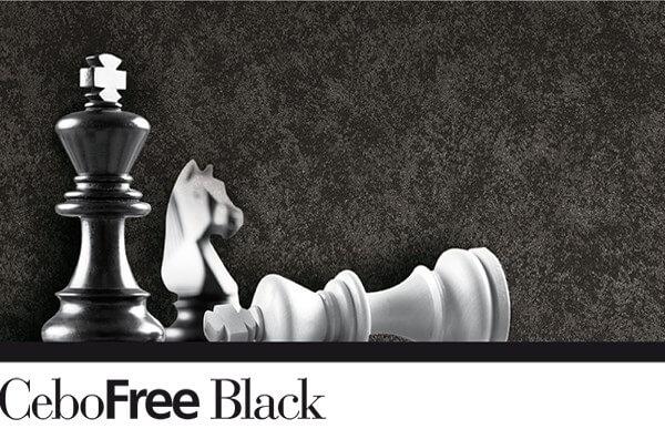 Декоративная штукатурка с эффектом Полихроматические хлопья черные