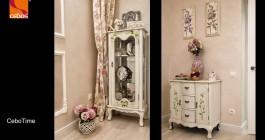 Фото работ, выполненных декоративными венецианкскими фактурными штукатурками торговой марки Cebos Color салоном город Ровно
