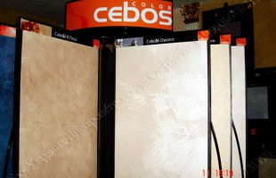 Декор-центр декоративной штукатурки CEBOS в Днепре