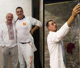 Мастер-класс в городе Винница по нанесению декоративных штукатурок Cebos Color