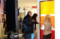 Декоративные штукатурки на выставке в Киеве 2012г.