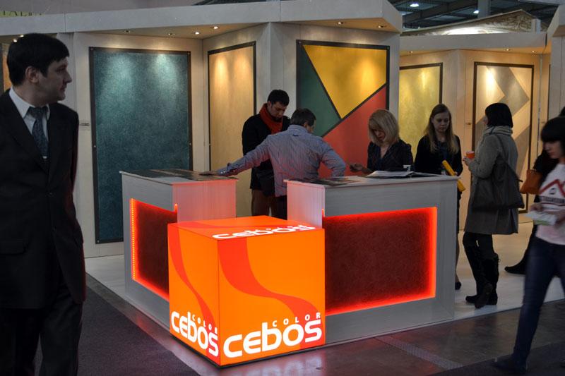 Декоративные штукатурки и краски Cebos