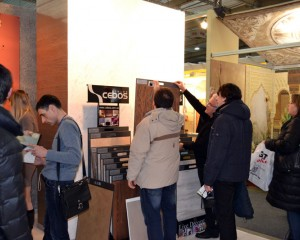 Декоративные штукатурки на выставкеInterBudExpo 2013