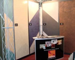 Декоративные штукатурки на выставке Домострой-Весна 2013