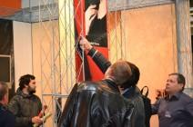 Декоративные штукатурки на выставке в Киеве 2011г.